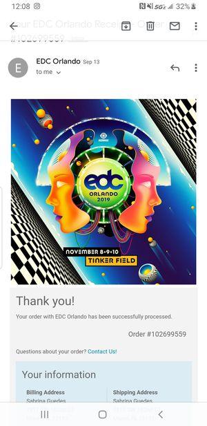 EDC Orlando tickets for Sale in Miami, FL