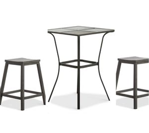 3pc Counter Height Table and Stools Set for Sale in Fullerton, CA