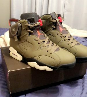 "AIR JORDAN 6 RETRO SP ""TRAVIS SCOTT for Sale in Houston, TX"