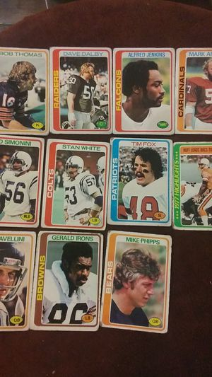 Old football& baseball cards for Sale in Athens, GA