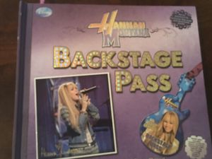 Hannah Montana Backstage Pass Book for Sale in Boca Raton, FL