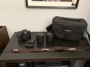 Canon t6i package for Sale in Federal Way, WA