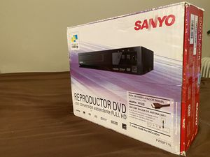 SANYO FWDP175F DVD & CD PLAYER & REMOTE - HDMI - 1080p - DOLBY DIGITAL & MORE !! for Sale in Los Angeles, CA