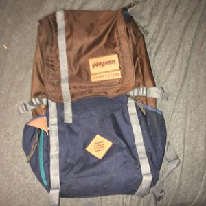 Jansport Hippie tree backpack with back support for Sale in Tampa, FL