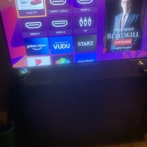 55 Roku And Tv Stand for Sale in Arlington, VA