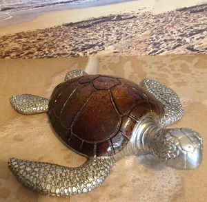 Lg Chocolate Resin Sea Turtle for Sale in Tampa, FL