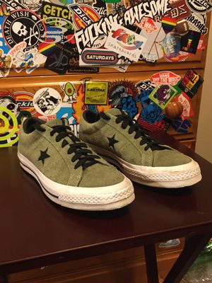 Converse Olive Green One Star for Sale in Auburn, WA