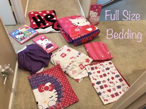 Full Size Hello Kitty Bedding Set for Sale in Chula Vista, CA