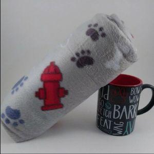 NEW Dog Fleece and Mug Gift Set for Sale for sale  Framingham, MA