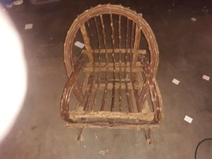 Little wooden rocking chair for kids for Sale in High Ridge, MO