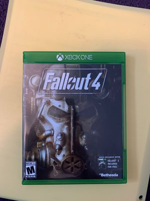 Fallout 4 Xbox One for Sale in Jacksboro, TN