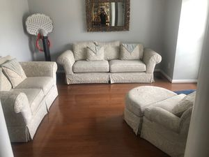 Sofa love seat chair and ottoman for Sale in Nolensville, TN
