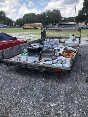 Single axle trailer low and small tires for Sale in Lutz, FL
