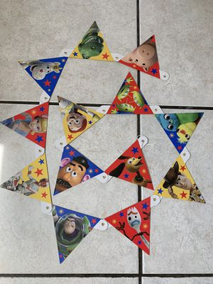 Toy story party banner for Sale in San Dimas, CA