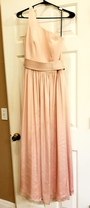 Elegant rose gold dress, VERA WANG brand. Size 10 for Sale in Kissimmee, FL
