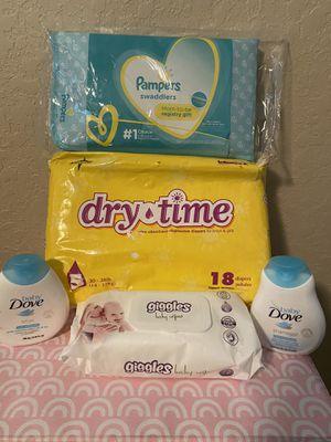 Baby pampers bundle for Sale in San Antonio, TX