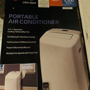 LG Portable AC Unit for Sale in Bakersfield, CA