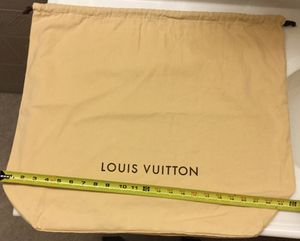 Big Louis Vuitton Dust Bag for Sale in Lake in the Hills, IL