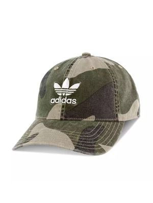 Adidas hat relaxed cap camp print adults unisex for Sale in Duluth, GA