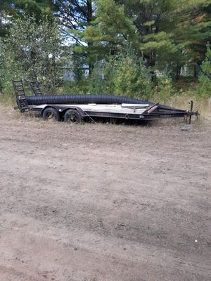 18ft car hauler for Sale in Woodhaven, MI