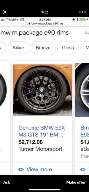Bmw m3 stock rims for Sale in Bronx, NY