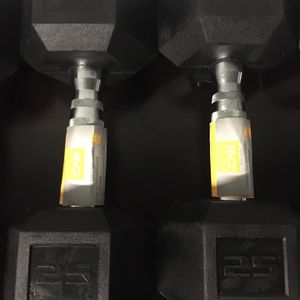 Brand New Top of the Line CAP 25lbs Dumbbell Set for Sale in Rochester Hills, MI