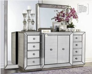 BRAND NEW Z Gallerie Omni Collection / ALL Mirrored Furniture Pieces for Sale in Newport Beach, CA