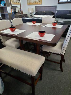 DINING TABLE SET (COMEDOR) for Sale in Los Alamitos, CA