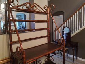 Bakers rack, bambo for Sale in Houston, TX