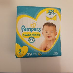 *NEW* Pampers Swaddlers Diapers, Size 2, 29ea for Sale in Garden Grove, CA