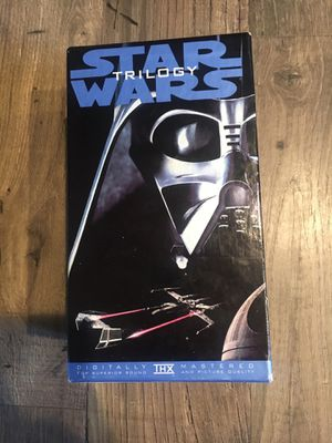 Star Wars VHS Trilogy for Sale in Lake Stevens, WA