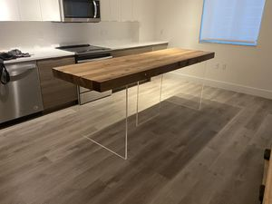 Air Floating cedar wood table for Sale in IND CRK VLG, FL