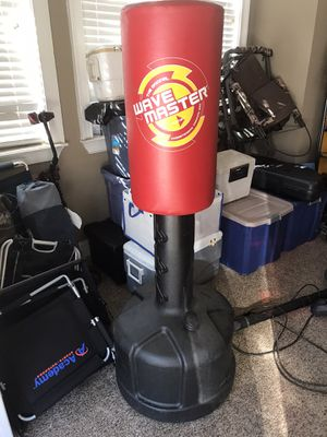 Punching bag with water-filled base for Sale in Travelers Rest, SC