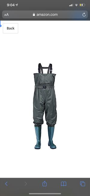 Chest Waders,Waiters,Hip Waders,Fishing Waders for Men and Women Waterproof Nylon/PVC Bootfoot Hunting Waders with Boots Fishing Waiters with Wading for Sale in Denton, TX