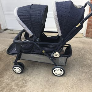 Graco Dual Stroller in perfect condition for Sale in Plano, TX