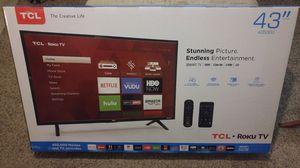 "TCL 43"" SMART HDTV'S WITH ROKU 43S303 IN BOX WARRANTY TAX INCL OTD PRICE for Sale in Glendale, AZ"