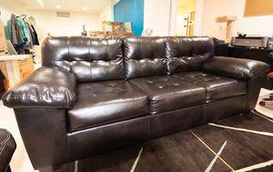 Ashley Furniture Alliston Sofa & Loveseat Dark Chocolate color for Sale in Ashburn, VA