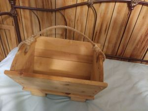 Nice Solid Heavy Pine Magazine Holder for Sale in Austin, TX