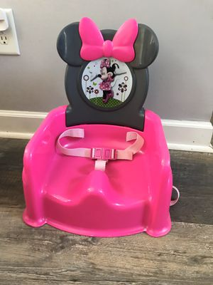 Minnie Mouse Booster Seat for Sale in Concord, NC