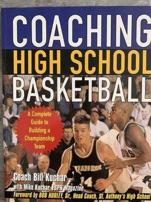 Coaching High School Basketball book for Sale in Selma, CA