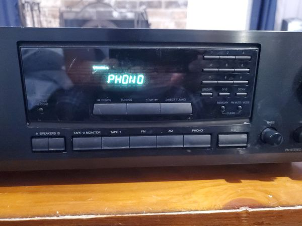 Onkyo Receiver Amplifier AM FM Stereo Home Theater Audio System TX-8211