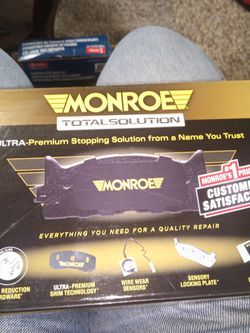 Front Brake Pads, New, Monroe. for Sale in Springfield,  IL