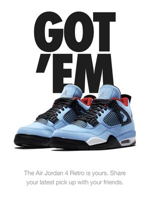 Air Jordan 4 Retro - Cactus Jack (Size 12) for Sale in Seattle, WA