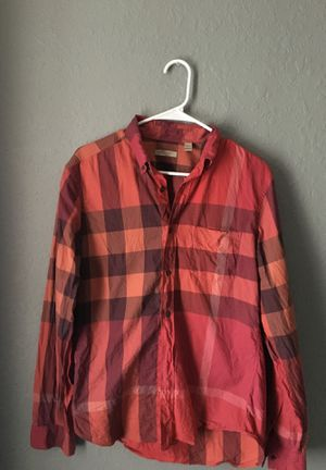 Used Burberry Shirt for Sale in Houston, TX