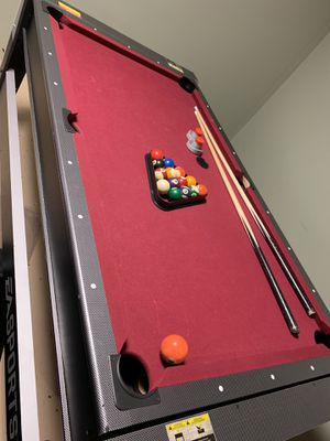 Pool table converts to air hockey for Sale in Mableton, GA
