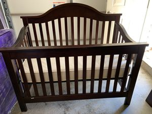 3 in 1 Crib, Toddler Bed, Twin Bed with Crib Mattress for Sale in Ashburn, VA