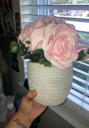 Fake flower pot for Sale in Lewisville, TX