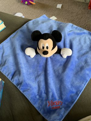 Mickey Mouse lovey for Sale in Middletown, RI