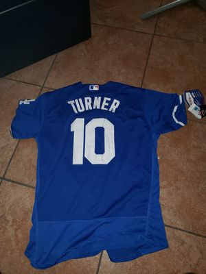 LA DODGERS TURNER JERSEY SIZE MED-2XL 100% STITCHED for Sale in Colton, CA