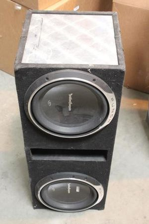 Rockford fosgate 15 inch p3 subwoofers for Sale in Denver, CO